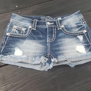 Miss Me shorts sz 25